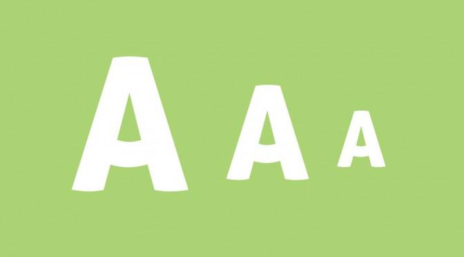 Responsive Font-size met '%' 'px', 'em' of 'rem'