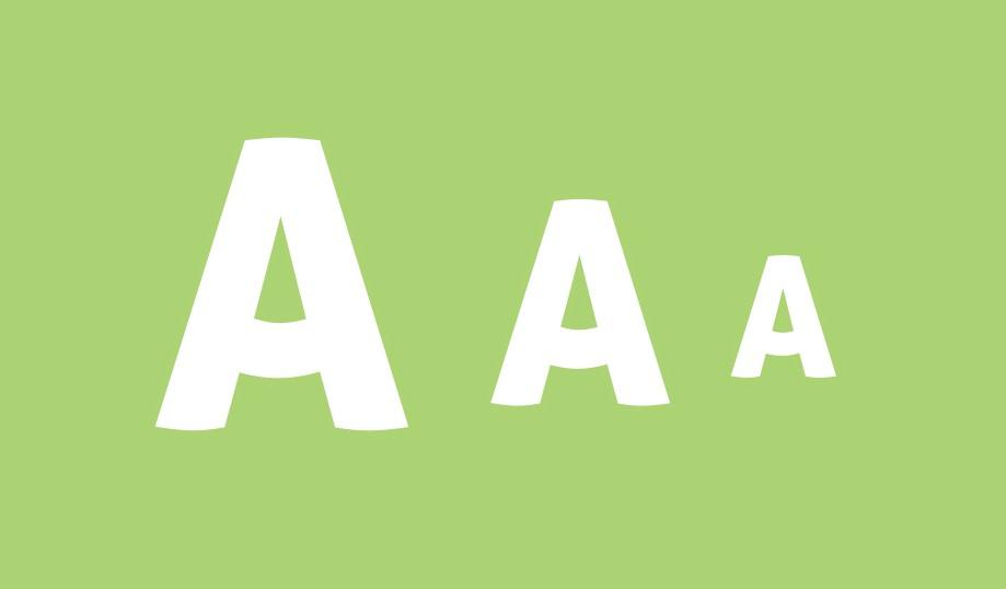 responsive font-size