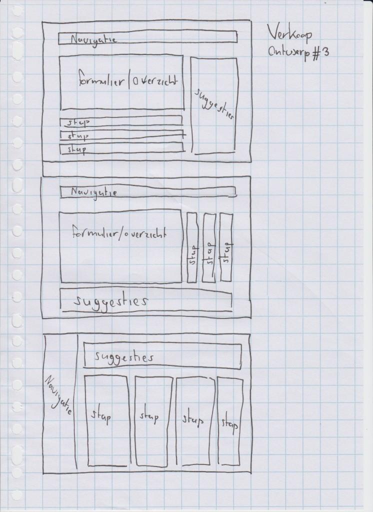 Verkoop ontwerp 3